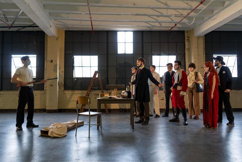 "The cast of ""Assassins"""