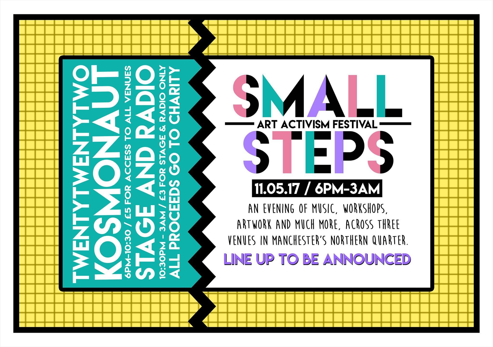 Small Steps Art Activism Festival
