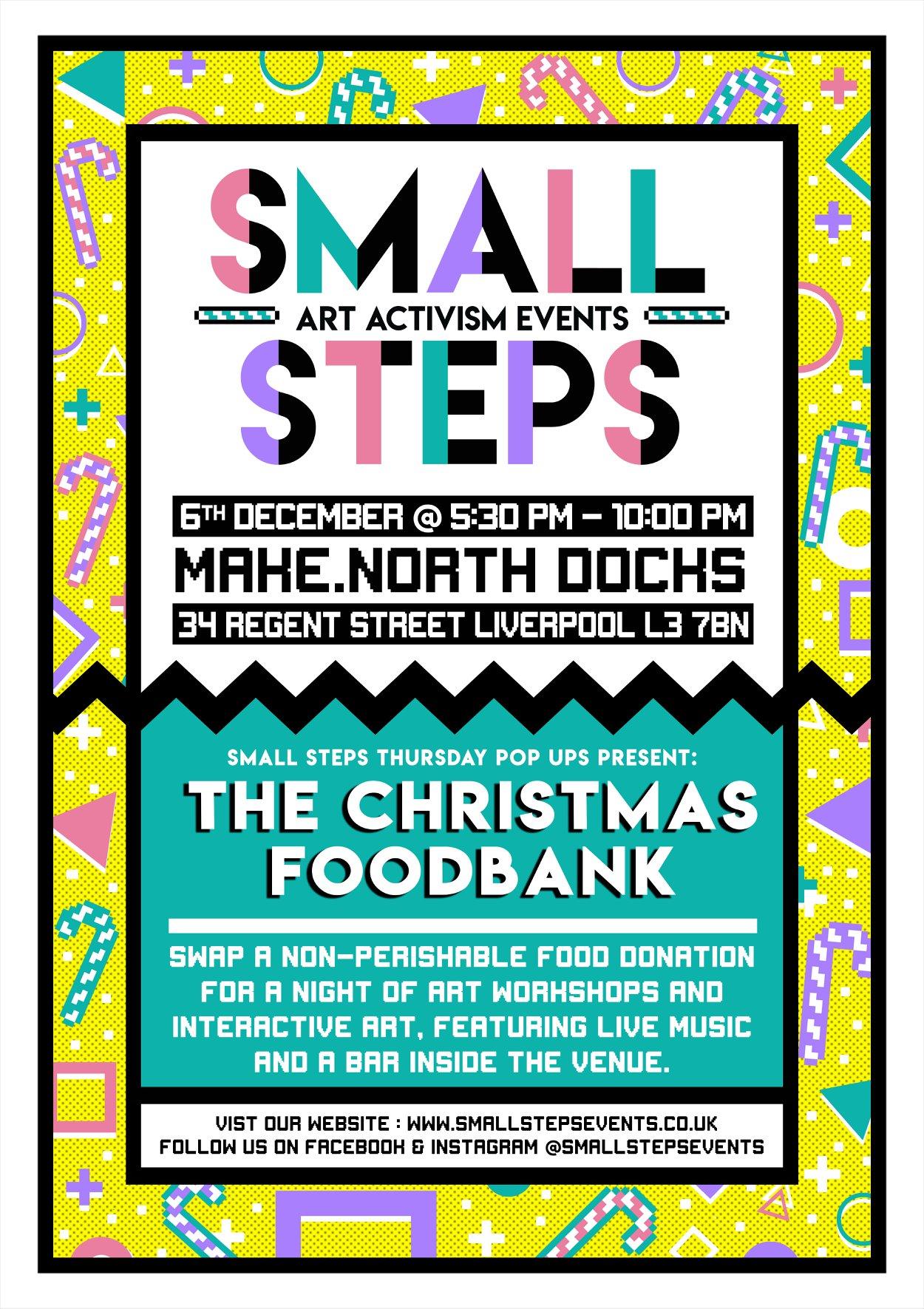 Small Steps Christmas Food Bank