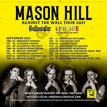 Empyre Mason hill tour september 2021