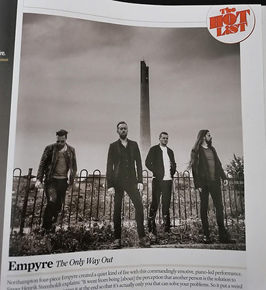 Empyre Classic Rock Magazine The Hot List Northampton Lift Tower