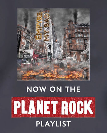 Planet Rock playlist Empyre's track My Bad