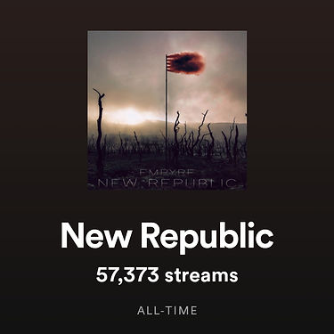 New Republic by Empyre surpasses 60,000 streams on Spotify