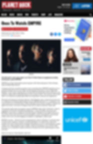 Planet Rock herald Empyre as Ones To Watch