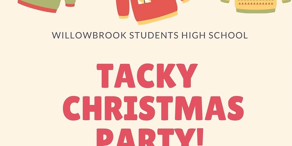 High School Tacky Christmas Party