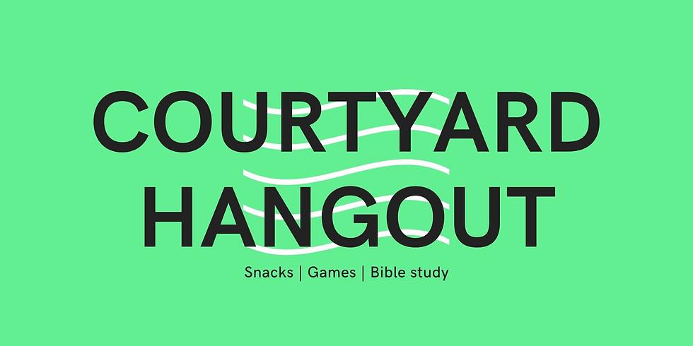 High School Courtyard Hangouts