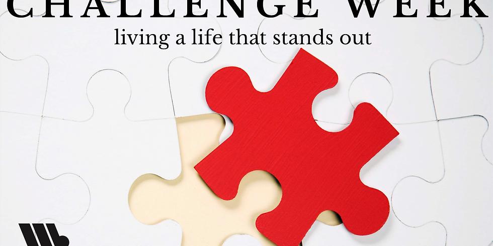 Preteen Challenge Week