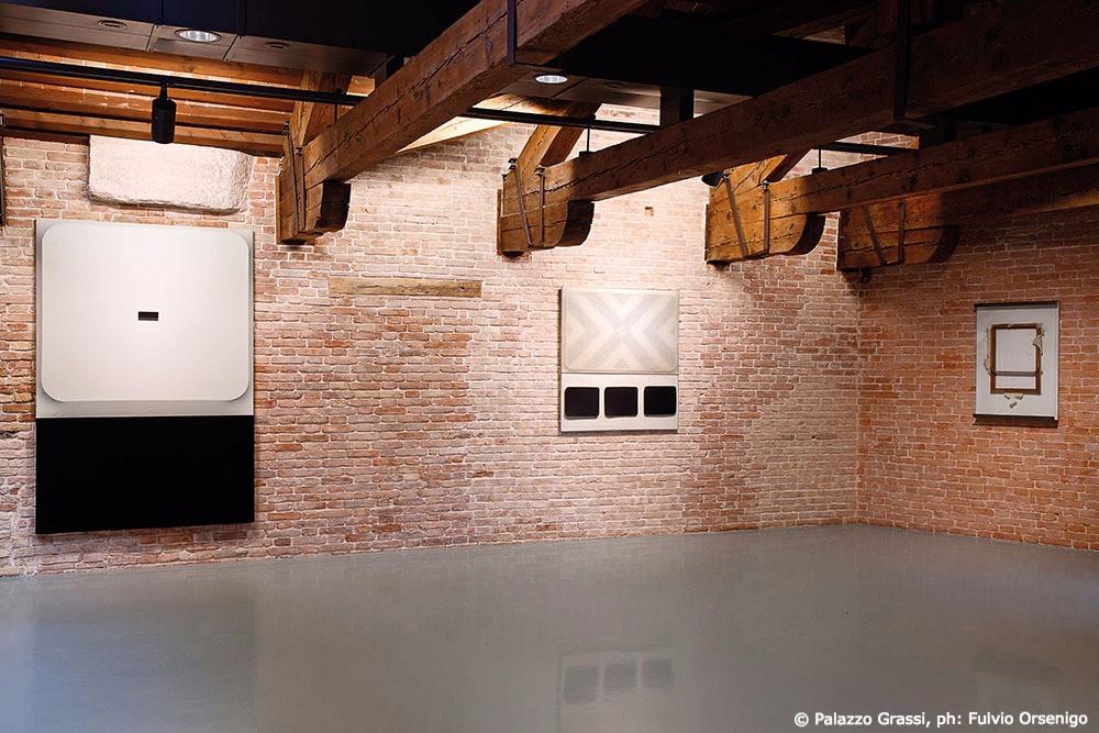 Fabio Mauri, Schermo, 1970 / Drive In 2, 1962 / Schermo carta rotto, 1957-1990