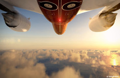Stunning $83M Skyacht One Looks Like a Flying Superyacht