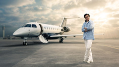 Check Out Jackie Chan's New Private Jet