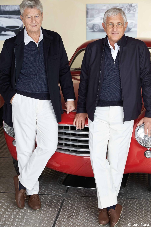 Giorgio Schön and Pierre Tonetti