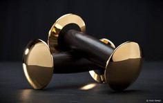 Snag These $125,000 Goldloft 18K Gold Dumbbells For the Fashionable Fitness Fanatic in Your Life