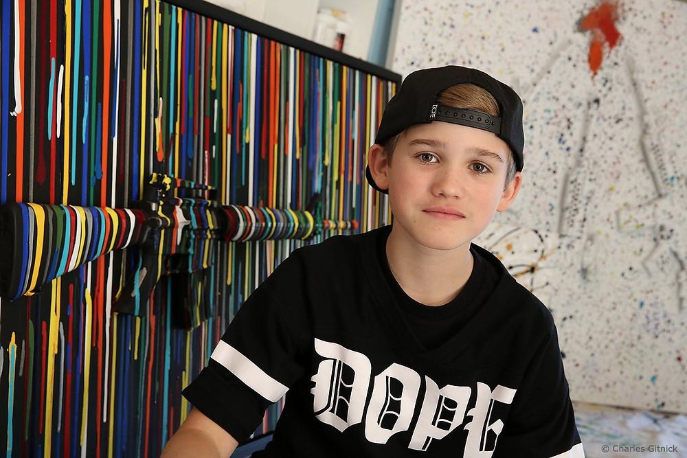 Charles Gitnick, June 2012 (Age 10)