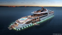 The ADMIRAL X Force 145 May End Up Being the Most Expensive Mega-Yacht in the World