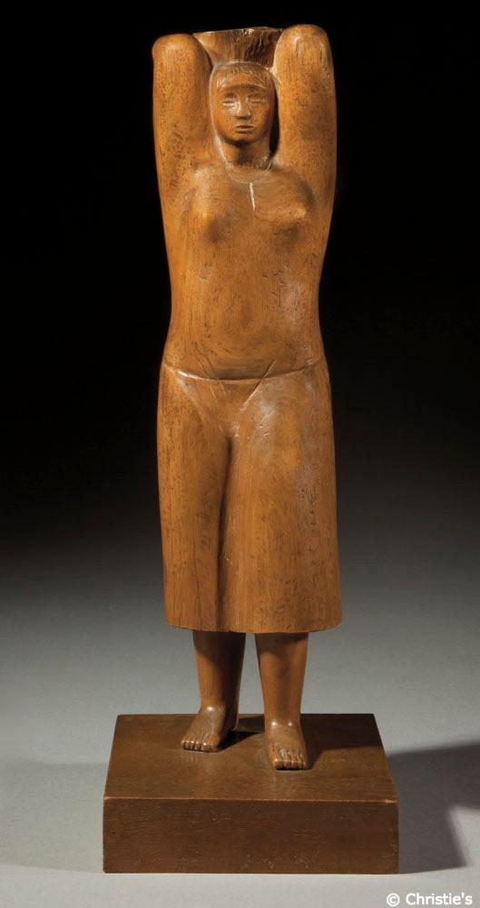 Standing Figure (Girl), Jewad Selim
