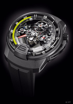 HYT H2 Watch High-end Appeal And Tech Style