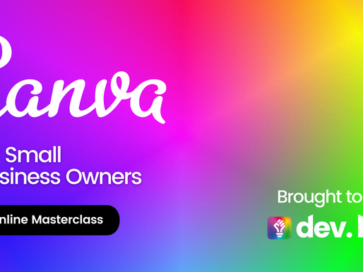 Canva Masterclass for Small Business Owners - 22/11/2021