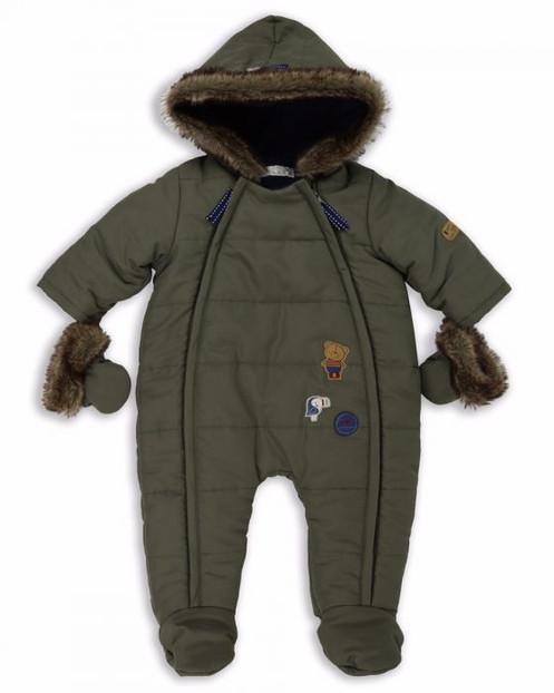 d11cca368 Baby Quilt Pramsuit Khaki
