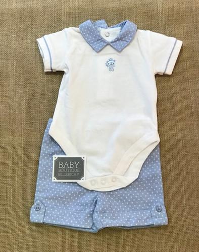9a6596ab3631 Rock-a-Bye Baby White 2 Piece Set