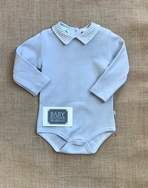 f351b5c86cfc Dandelion Grey Check Collar Bodysuit