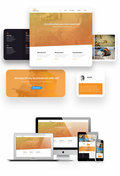 Services   Construction Template
