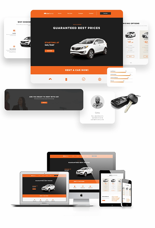 Services | Car Rental Template
