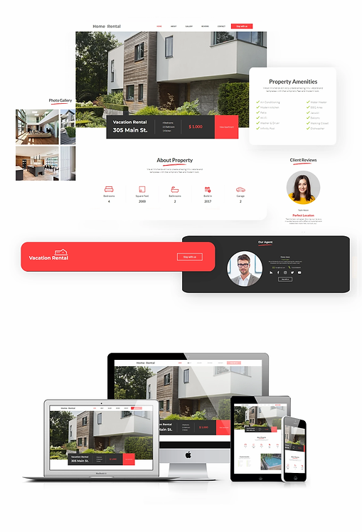 Real Estate | WX Home Rental Template