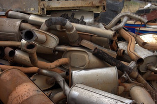 CAR EXHAUST SYSTEM RUST PREVENTION