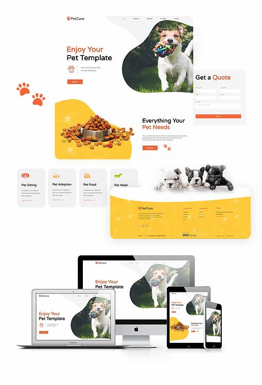Business   WX Petcare Template