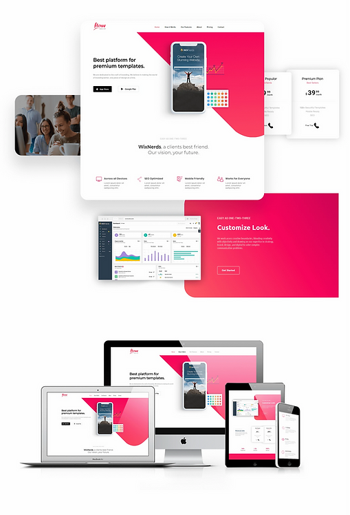 Technology/Apps | Flow Template