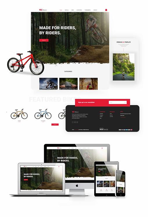 Ecommerce | WX Bikerz Template