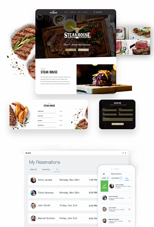 Restaurant | Steakhouse Template