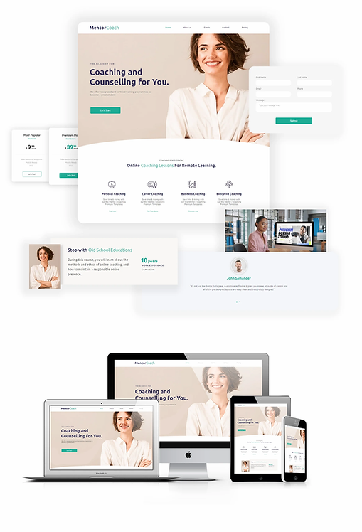 Business | WX MentorCoach Template