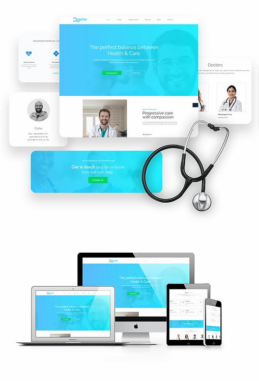 Health/Wellness | Doctor Template