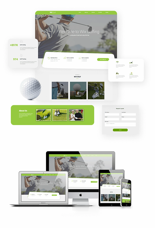 Business | WX Golf Template