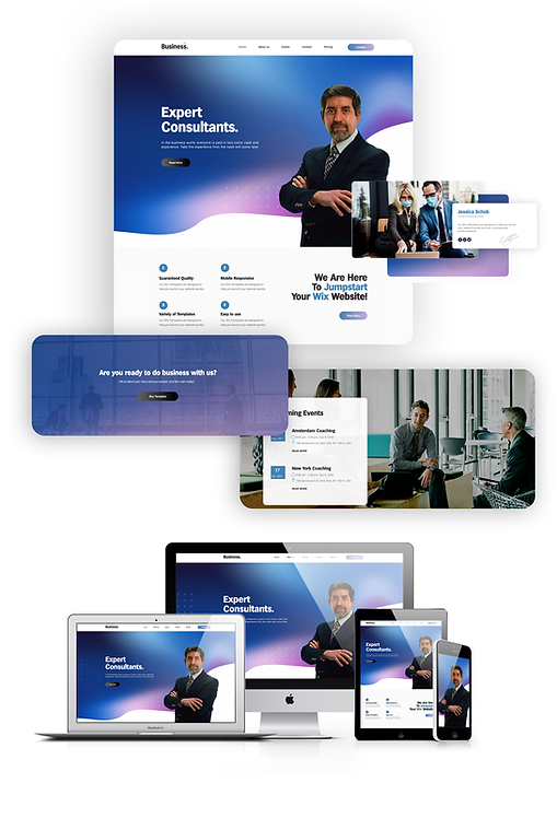 Business  | WX Corporate Template