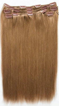 Clip-in extensions straight 45cm