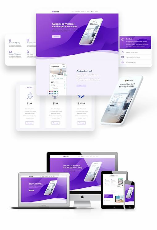Mobile App | Mouna Template