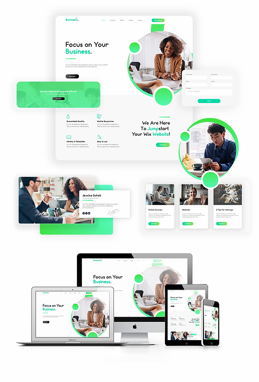 Business | WX Business Template