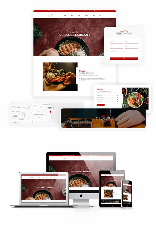 Restaurant | Asian Restaurant Template