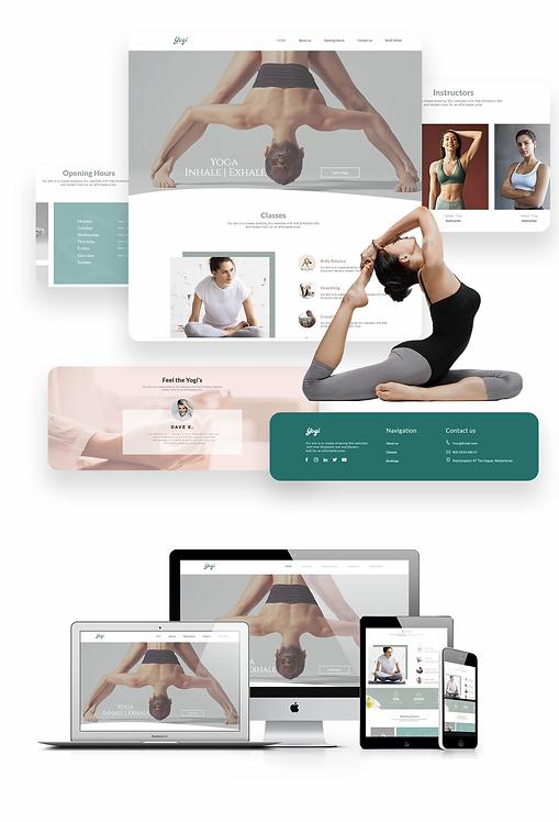 Health & Wellness   WX Yogi Template