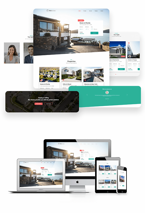 Real Estate | WixHomes Template