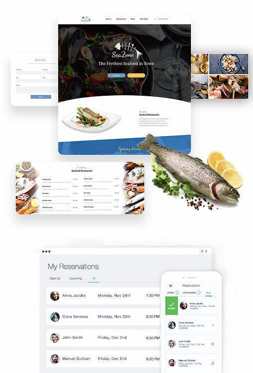 Restaurant | Seafood Template
