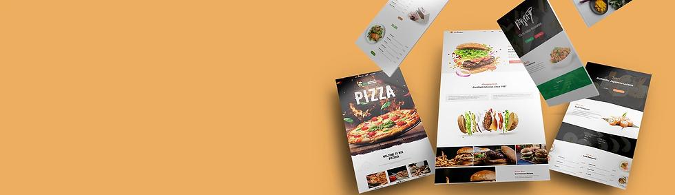 restaurant wix website templates