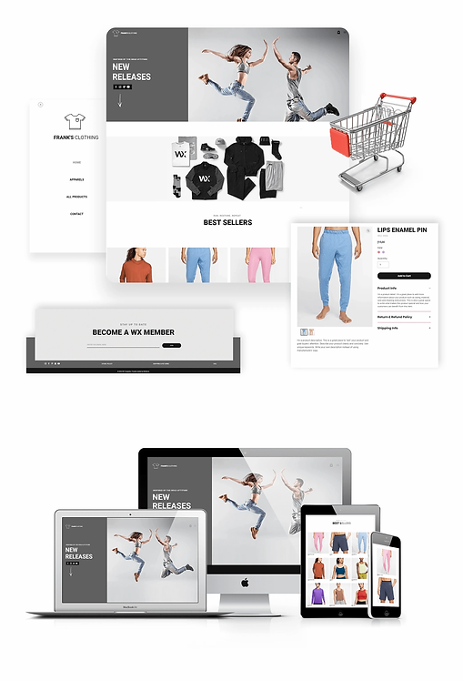 E-commerce | Frank's Shop Template