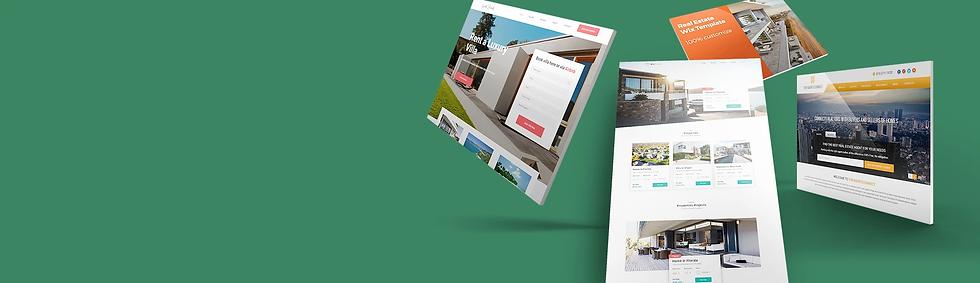Real Estate wix websites
