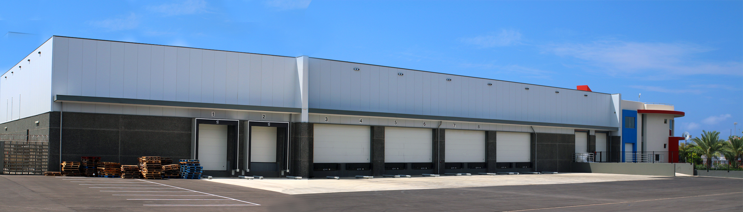 Our main distribution center