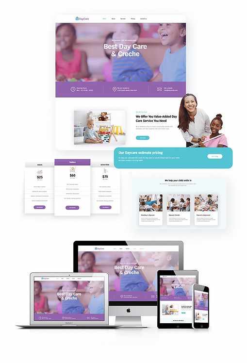 Business | WX Daycare Template