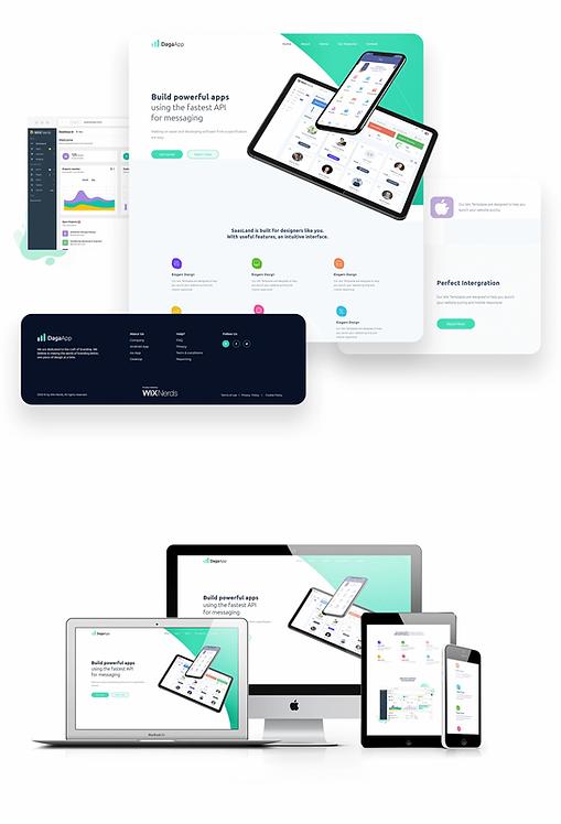 Technology/Apps | Daga Template