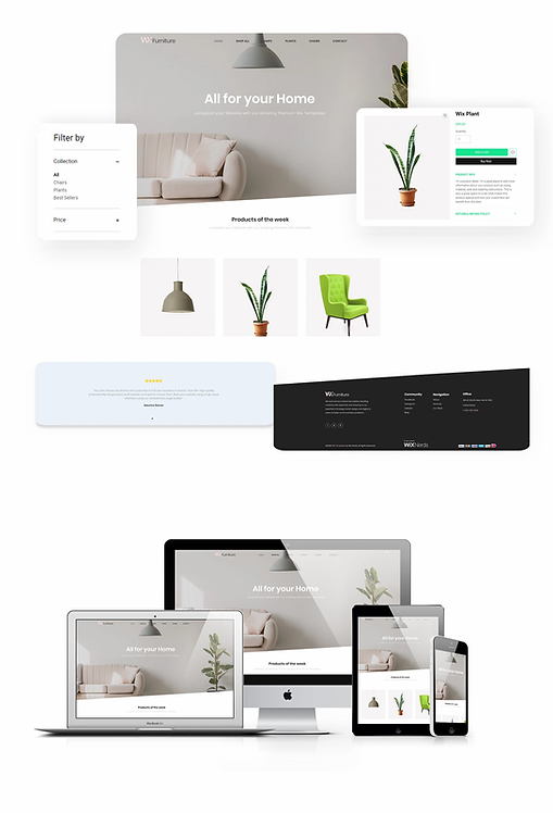 Ecommerce | WX Furniture Template